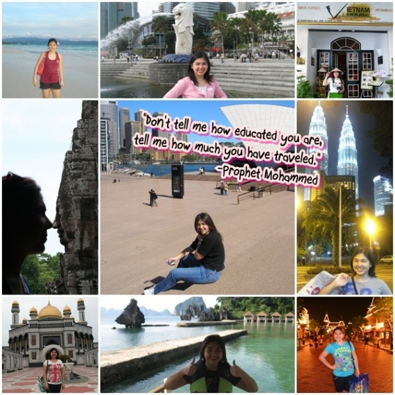 traveled, TRAVELS, will travel ♥