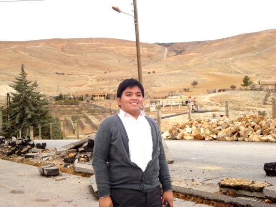 Jeremiah at Ma'loula, Syria