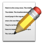 "There's more to ""writing"" than this emoji, you know? Wahahahahaha!"