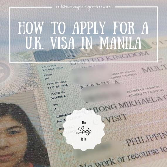 How to Apply for a U.K. Visa in Manila
