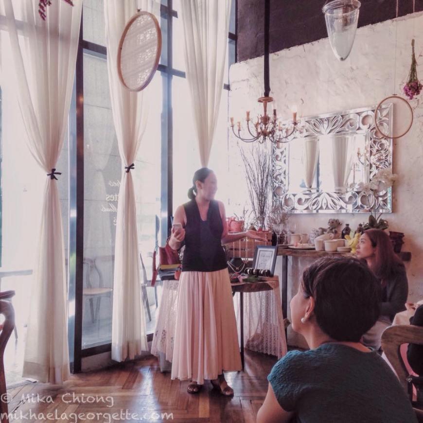 the inspiring Martine de Luna of makeitblissful.com
