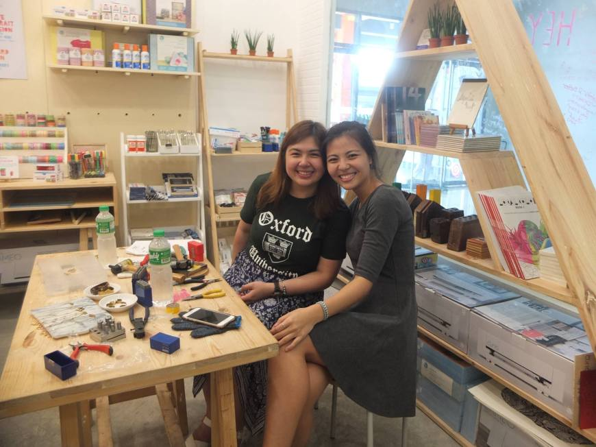 Mika and Kim (photo courtesy of the Pulseras by Kim Facebook page)