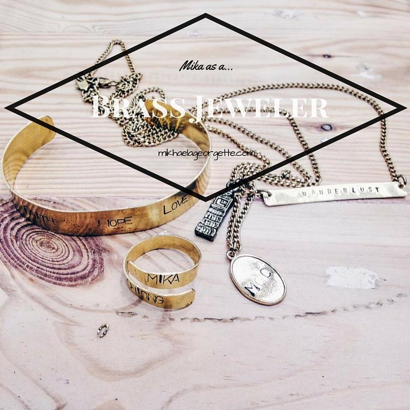 Mika as a Brass Jeweler