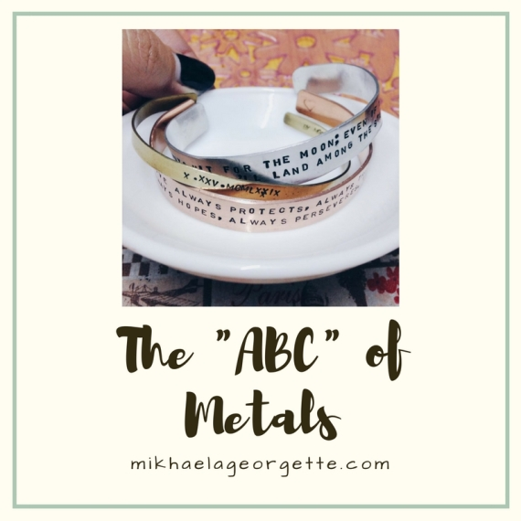 """The """"ABC"""" of Metals"""