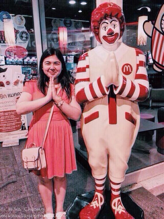 Sawadee ka from Ronald and me!