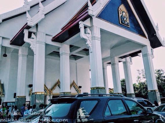 Holy Redeemer Church Bangkok, a Catholic church with interesting architecture
