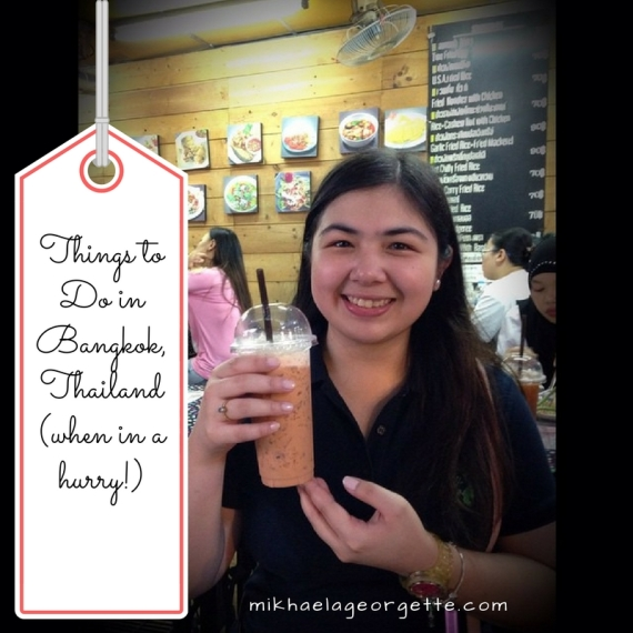 Things to Do in Bangkok, Thailand (when in a hurry!)