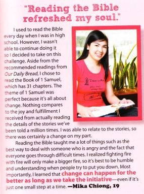 Featured in Candy Magazine, July 2009 issue