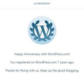 7th Blog Anniversary last December 9, 2016