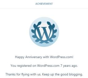 7th Blog Anniversary last December 9, 2016
